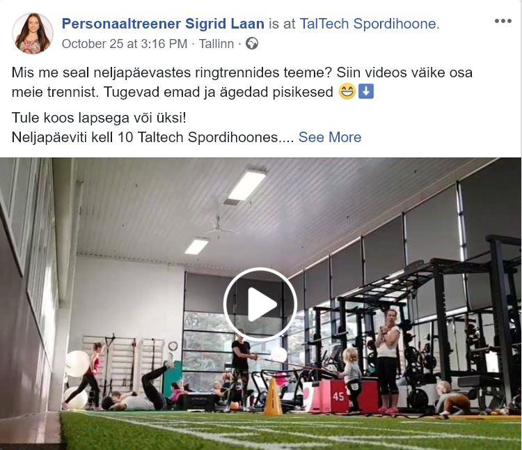 Diastaas ja ringtreening TalTech - Sigrid Laan